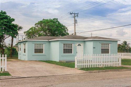 Photo of 600 W 5th St, Riviera Beach, FL 33404 (MLS # A10810375)