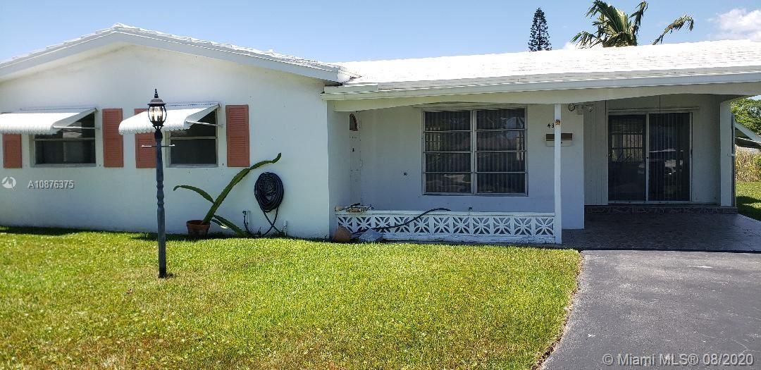 4315 NW 1st Ter #0, Deerfield Beach, FL 33064 - #: A10876375