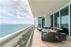 Photo of 16051 Collins Ave #1403, Sunny Isles Beach, FL 33160 (MLS # A10406377)