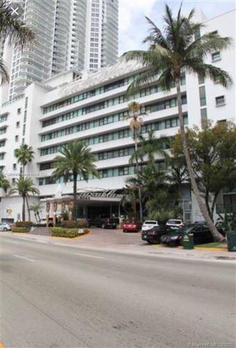 Photo of 6345 Collins Ave #811, Miami Beach, FL 33141 (MLS # A11028378)