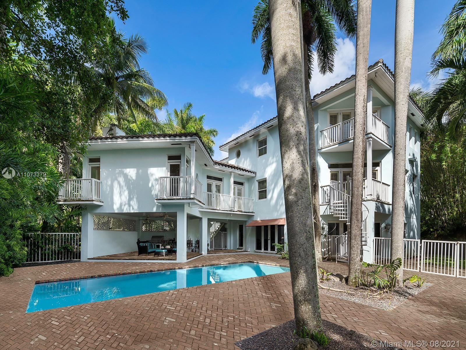 3545 Anchorage Way, Miami, FL 33133 - #: A11073379