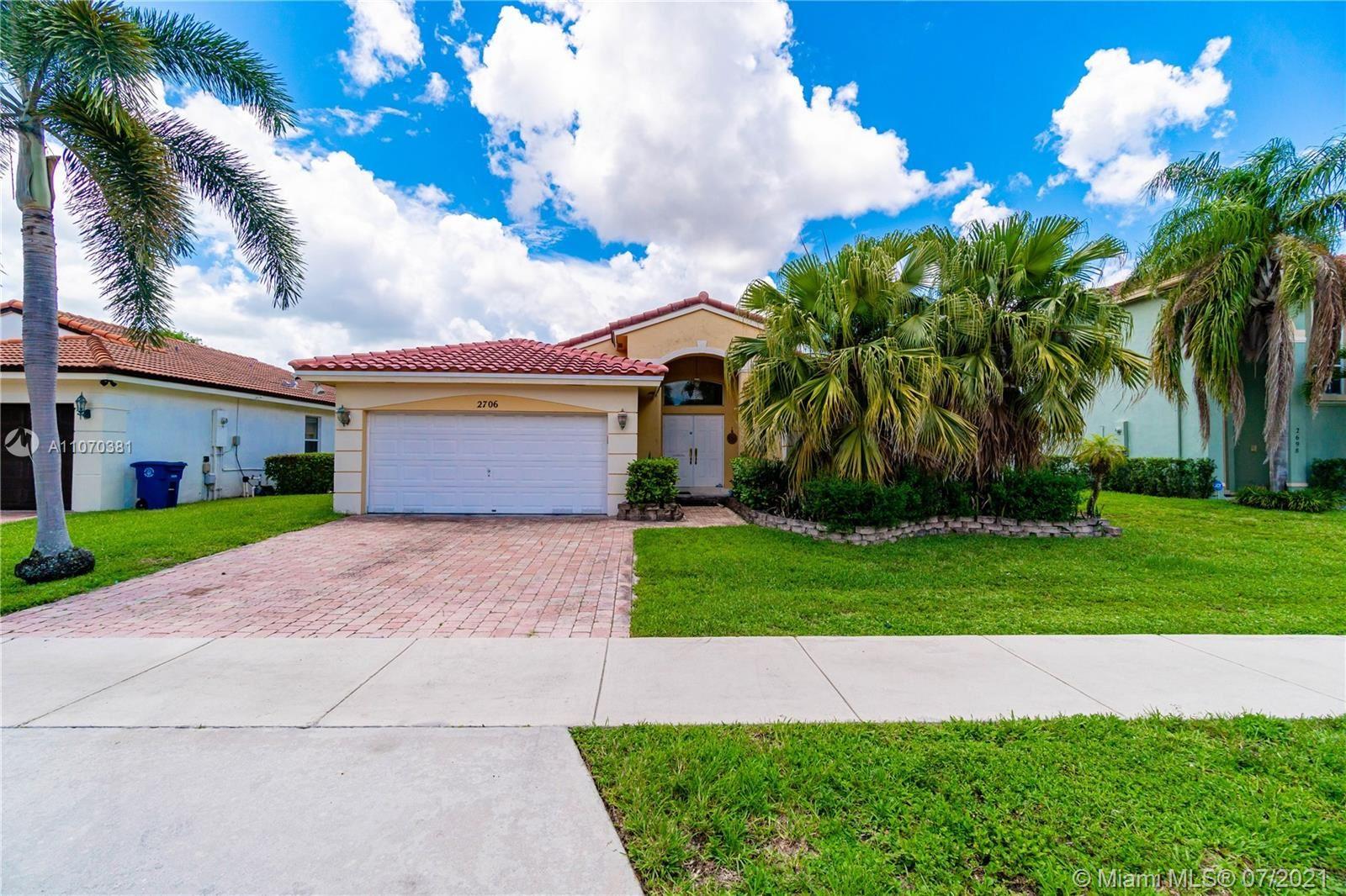 Photo of 2706 SW 139th Ave, Miramar, FL 33027 (MLS # A11070381)