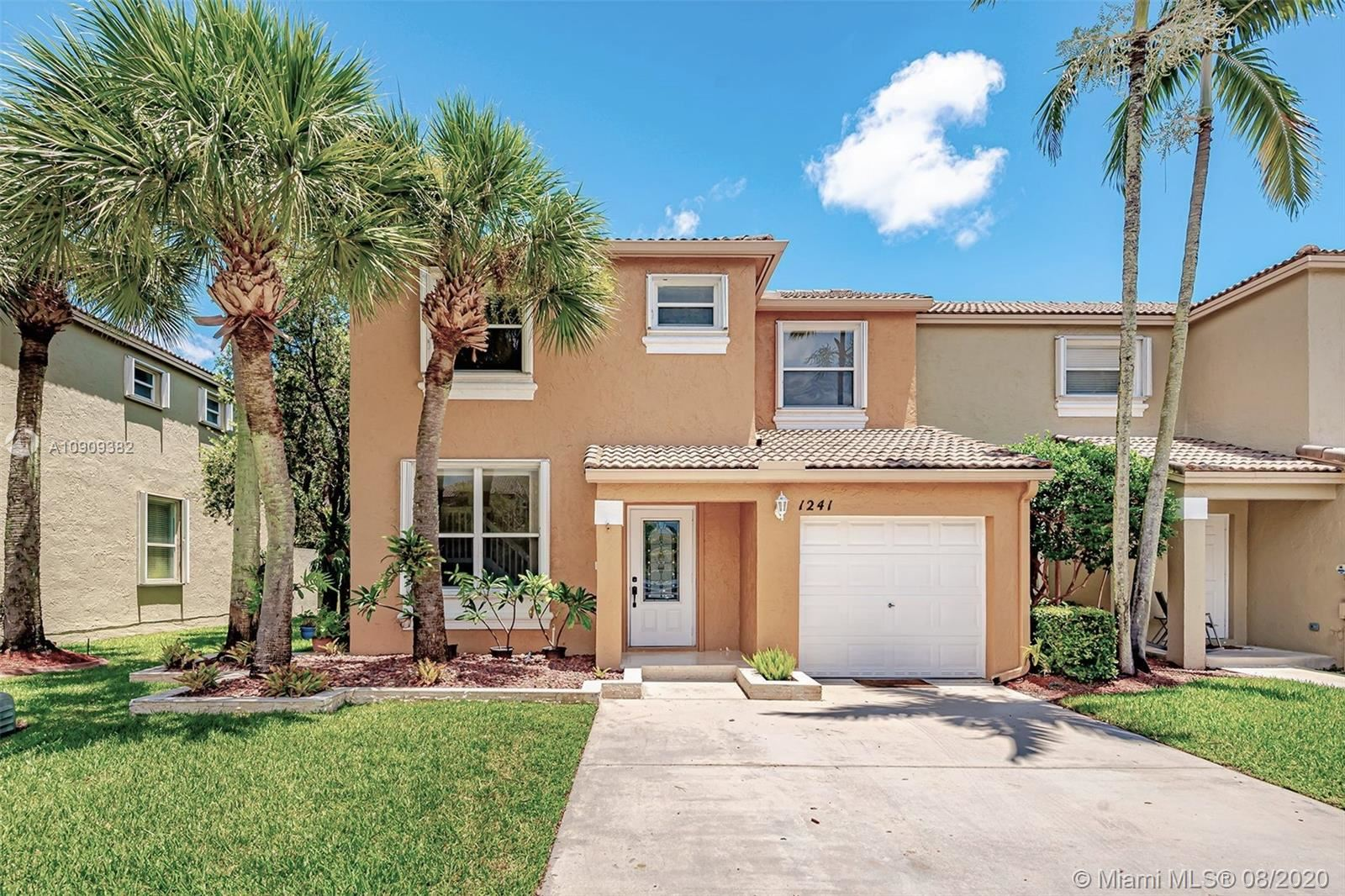 1241 NW 154th Ave #1241, Pembroke Pines, FL 33028 - #: A10909382