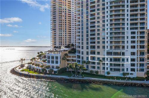 Photo of 848 Brickell Key Dr #404, Miami, FL 33131 (MLS # A10785383)