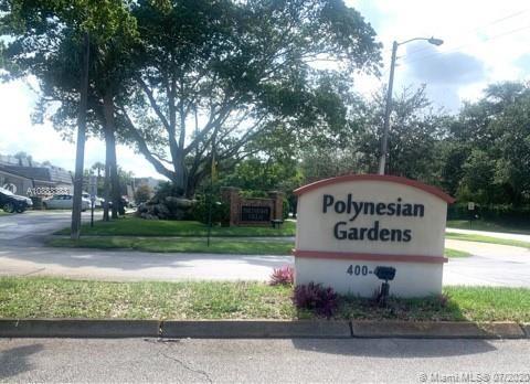 Foto de inmueble con direccion 408 NW 68th Ave #505 Plantation FL 33317 con MLS A10888383