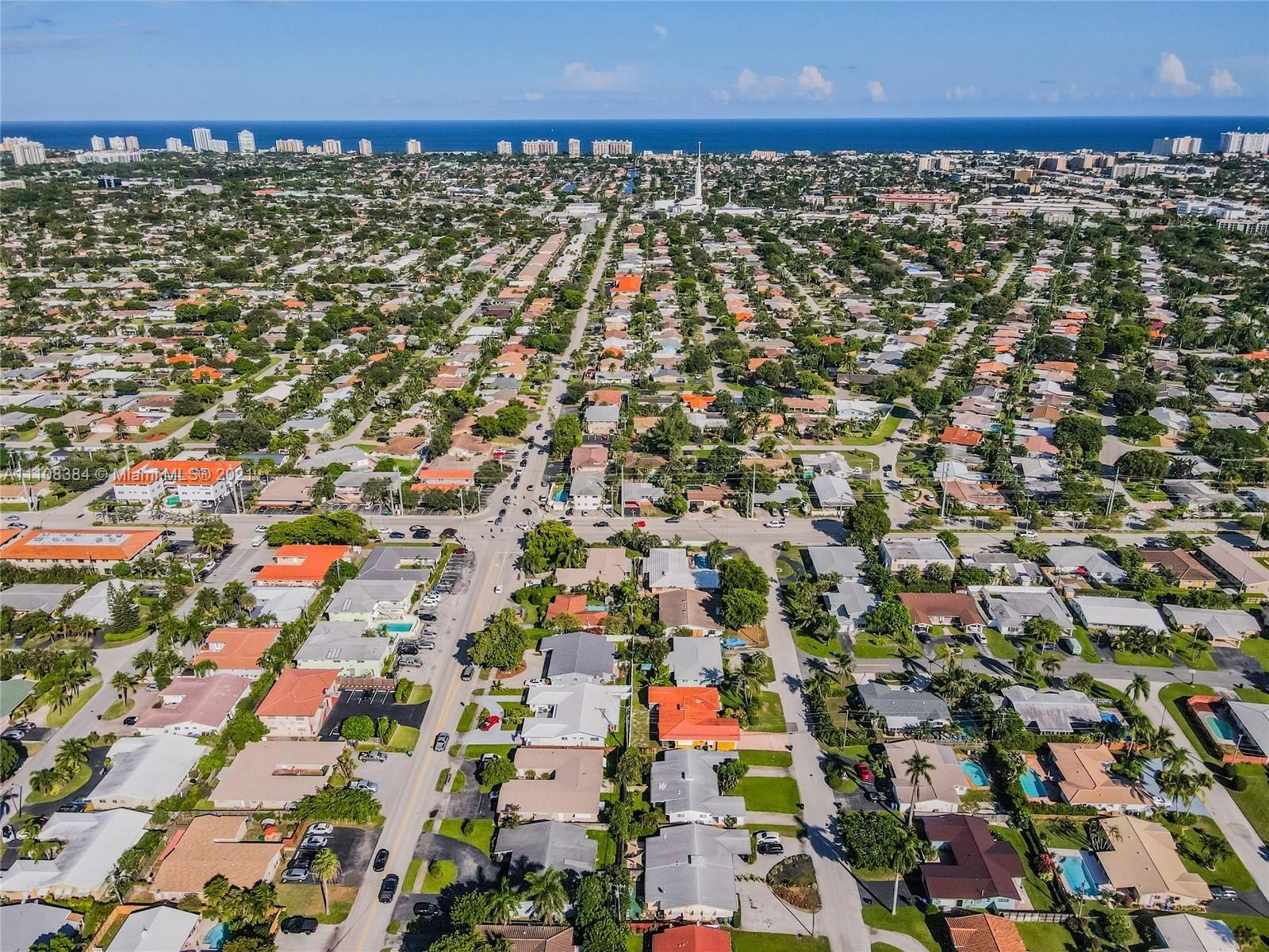 1709 NE 55th St, Fort Lauderdale, FL 33334 - #: A11108384