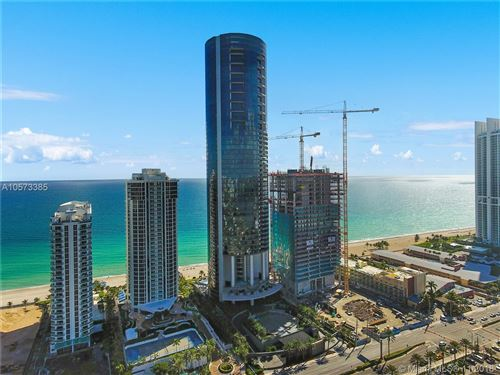 Photo of 18555 Collins Ave #5101, Sunny Isles Beach, FL 33160 (MLS # A10573385)