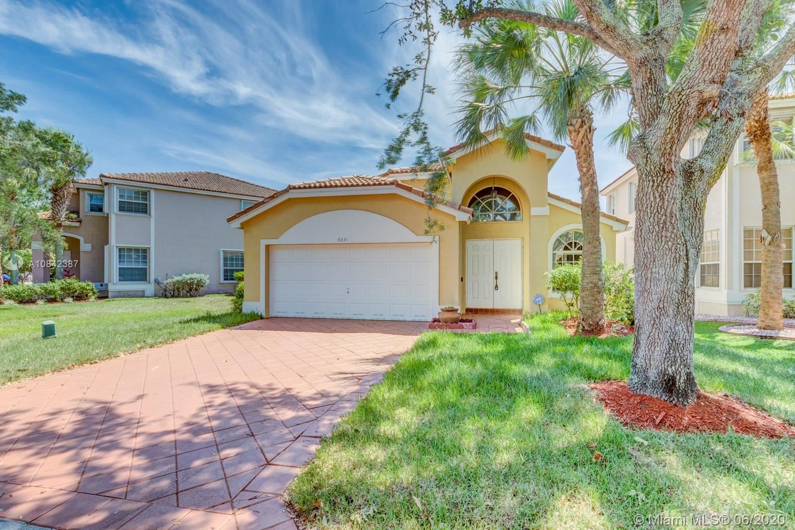 5331 NW 125th Ave, Coral Springs, FL 33076 - #: A10842387