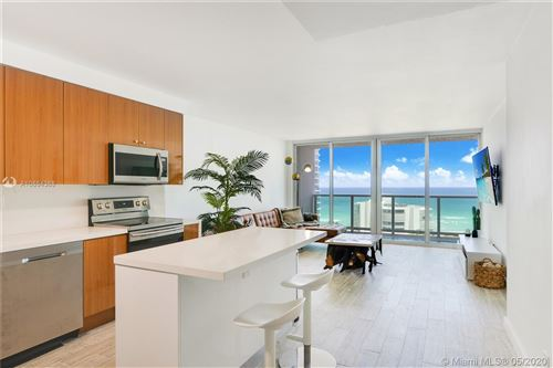 Photo of 100 Bayview Dr #1409, Sunny Isles Beach, FL 33160 (MLS # A10864388)