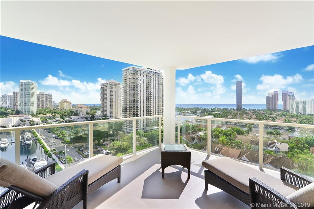 Photo of 19500 Turnberry Way #12A, Aventura, FL 33180 (MLS # A10714388)