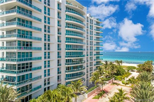Photo of 9401 Collins Ave #404, Surfside, FL 33154 (MLS # A10889389)
