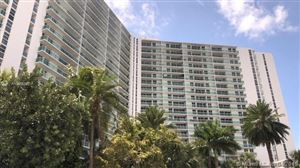 Photo of 100 Bay View Dr #1609, Sunny Isles Beach, FL 33160-4759 (MLS # A10656390)