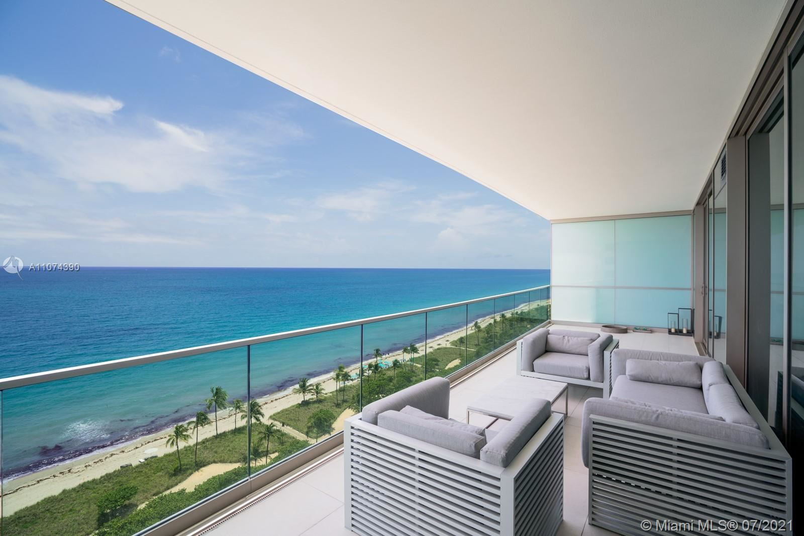 Photo of 10203 Collins Ave #1403, Bal Harbour, FL 33154 (MLS # A11074390)