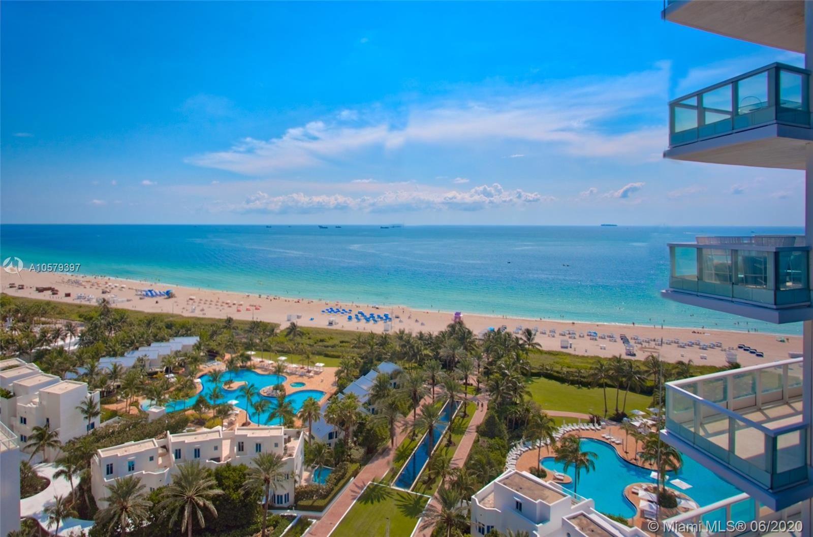 100 S Pointe Dr #1610, Miami Beach, FL 33139 - #: A10579397