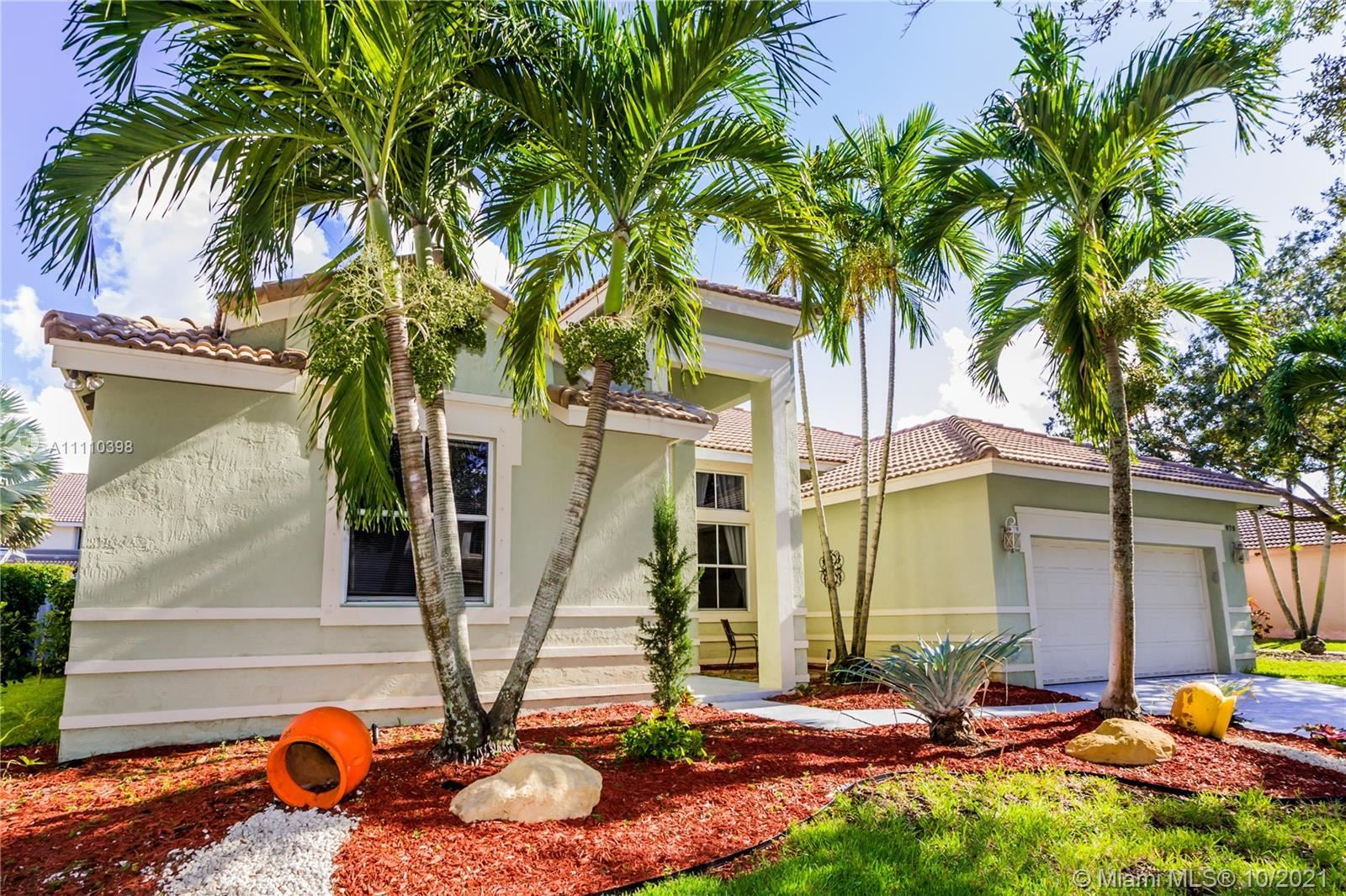 970 Greenwood Rd, Weston, FL 33327 - #: A11110398
