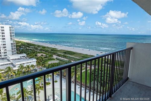 Photo of 9273 Collins Ave #1107, Surfside, FL 33154 (MLS # A11094401)