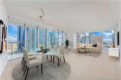 Photo of 465 Brickell Ave #3702, Miami, FL 33131 (MLS # A10854403)