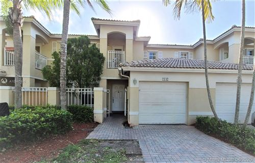 Photo of Listing MLS a10851405 in 2142 NW 171st Ter #2142 Pembroke Pines FL 33028