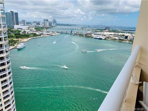 Photo of 808 Brickell Key Dr #3403, Miami, FL 33131 (MLS # A10848406)