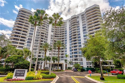 Photo of 3600 Mystic Pointe Dr #1212, Aventura, FL 33180 (MLS # A10943407)