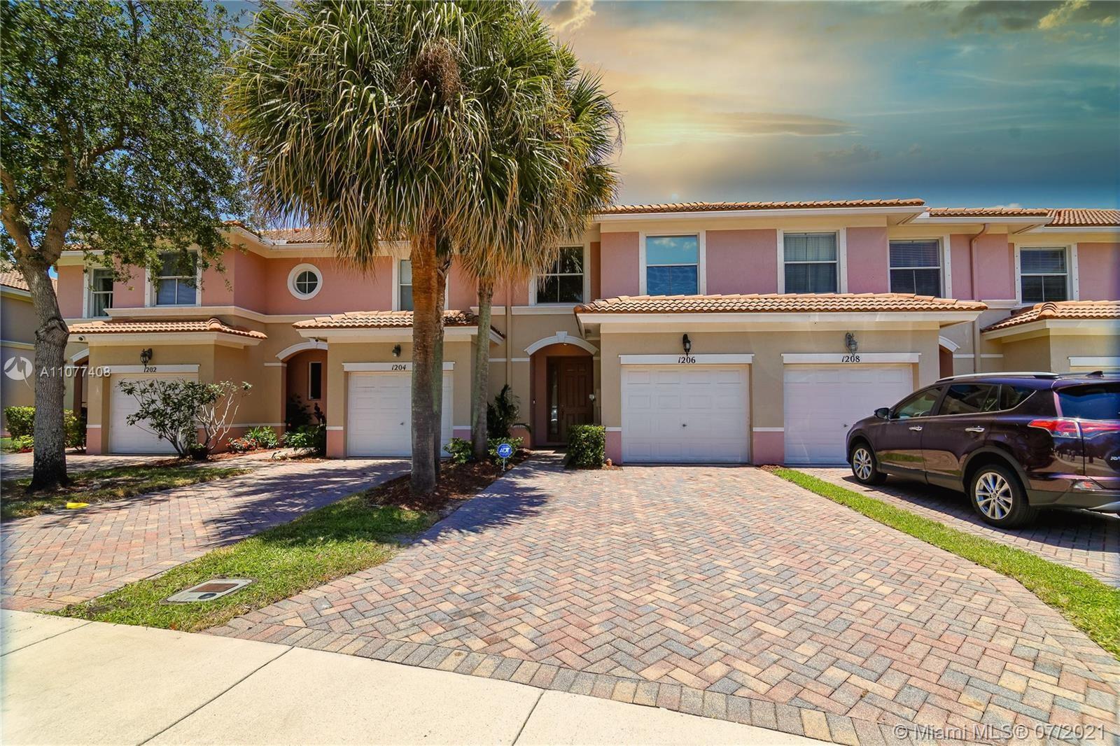 1206 Seminole Palms Dr, Greenacres, FL 33463 - #: A11077408