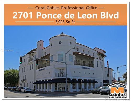 Photo of 2701 Ponce De Leon Blvd, Coral Gables, FL 33134 (MLS # A10914409)