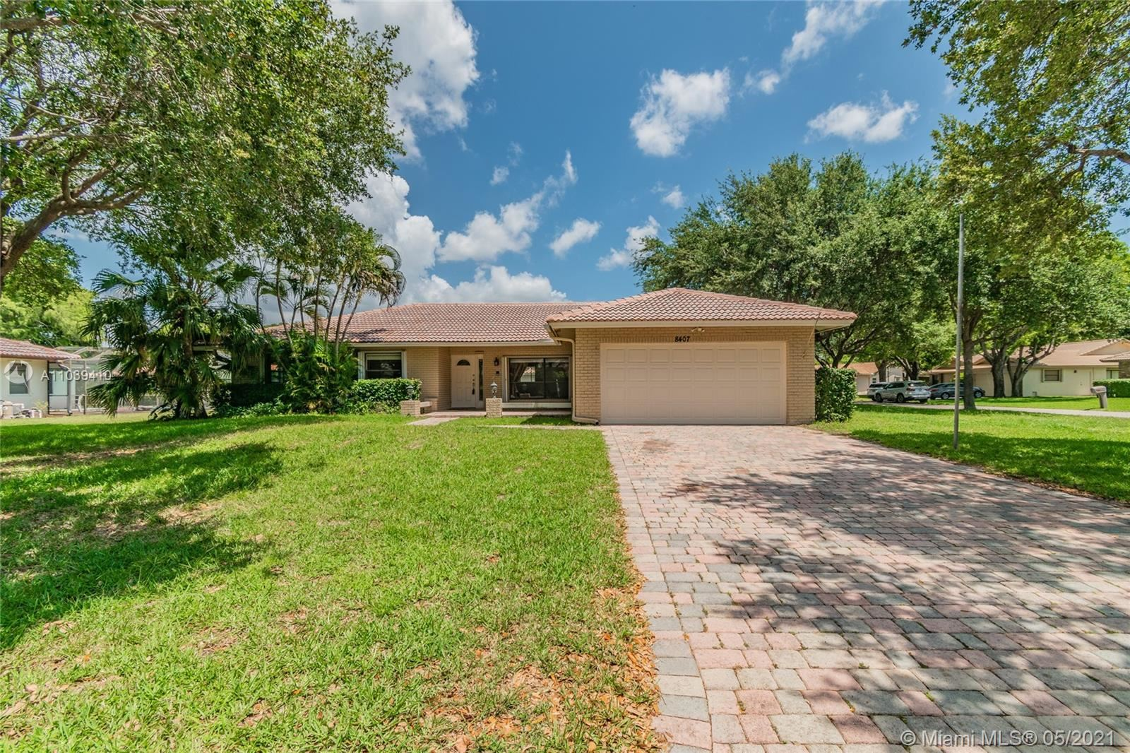 Photo of 8407 NW 2nd Mnr, Coral Springs, FL 33071 (MLS # A11039410)