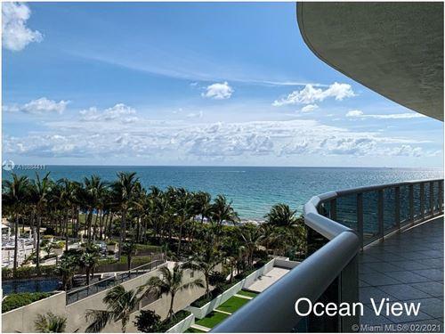 Photo of 9601 COLLINS AVE #703, Miami, FL 33154 (MLS # A10884411)