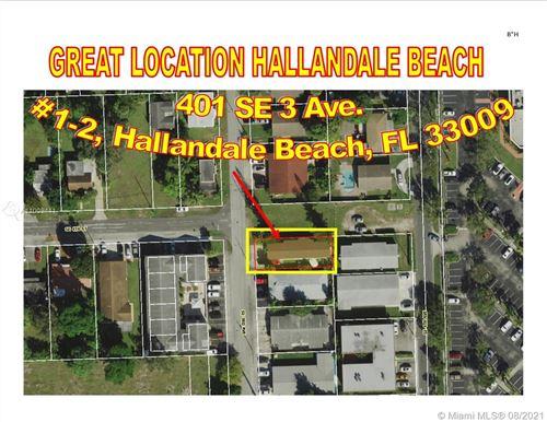 Photo of 401 SE 3rd Ave, Hallandale Beach, FL 33009 (MLS # A11009411)