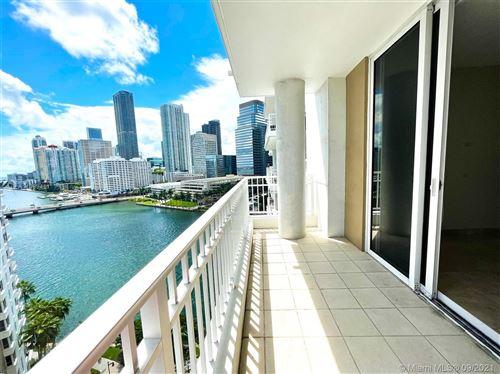 Photo of 801 Brickell Key Blvd #1405, Miami, FL 33131 (MLS # A11099411)