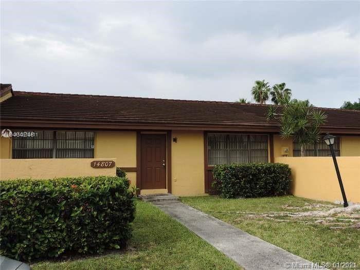 14807 SW 84th Ter #14807, Miami, FL 33193 - #: A10978411