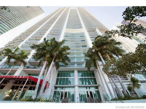 Photo of Listing MLS a10884412 in 900 Biscayne Blvd #3506 Miami FL 33132