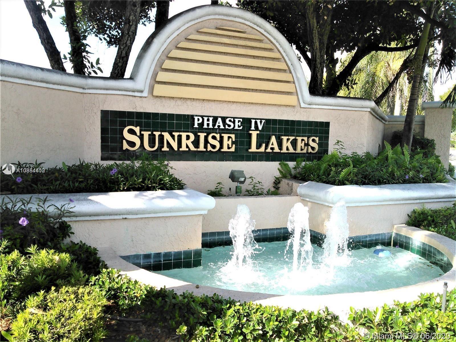 10303 Sunrise Lakes Blvd #105, Sunrise, FL 33322 - #: A10884413