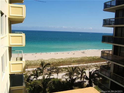Photo of 9499 Collins Ave #704, Surfside, FL 33154 (MLS # A10826414)