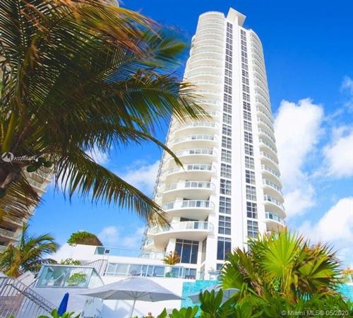 Photo of 18683 Collins Ave #1101, Sunny Isles Beach, FL 33160 (MLS # A10865414)