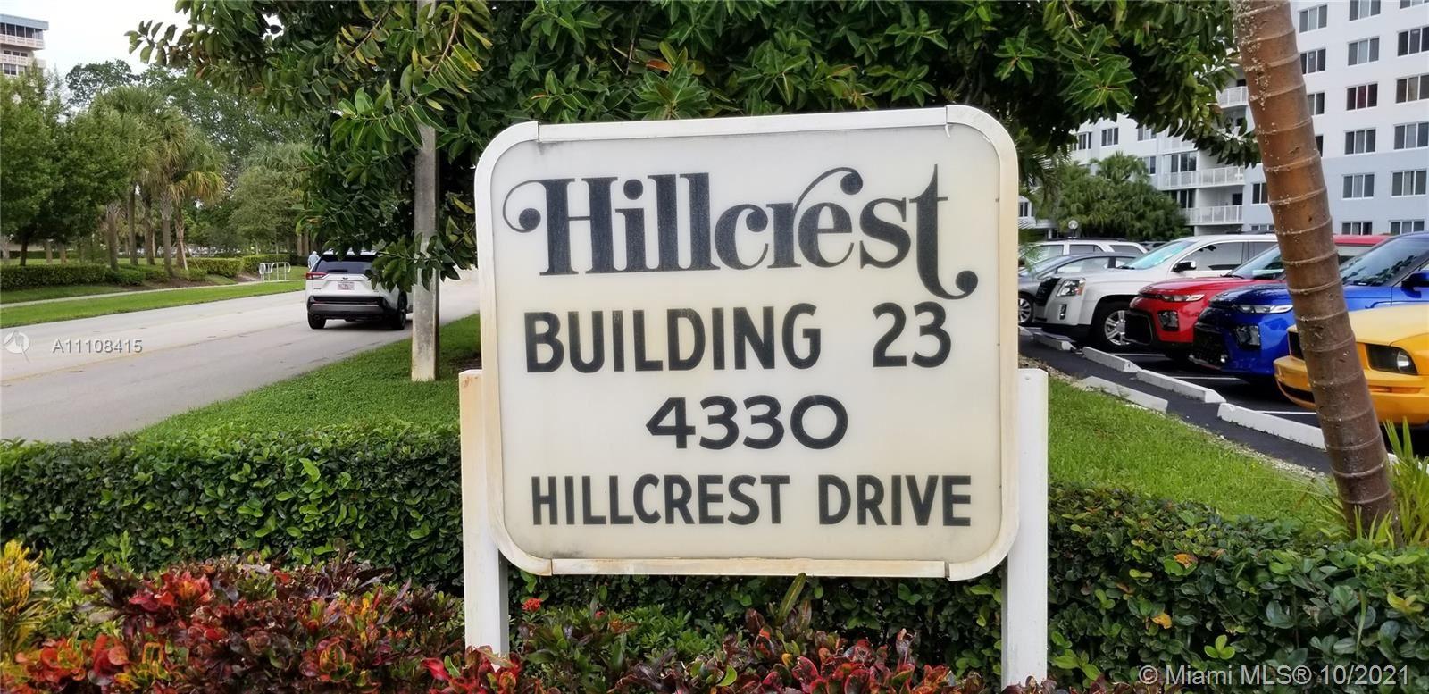4330 Hillcrest Dr #303, Hollywood, FL 33021 - #: A11108415