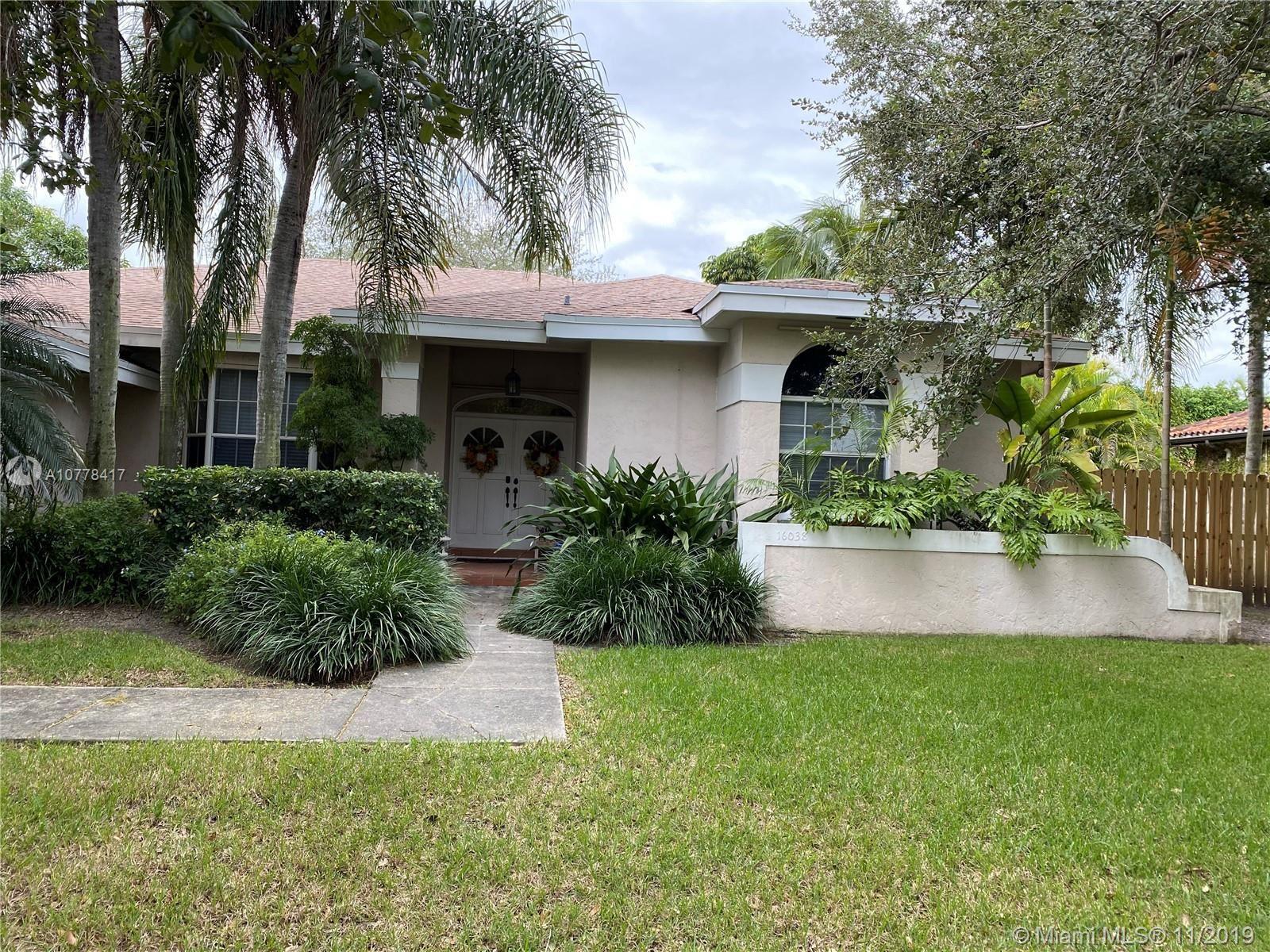 16038 SW 154th Ct, Miami, FL 33187 - #: A10778417