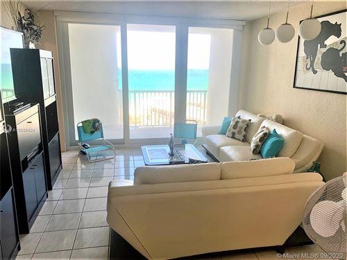 Photo of 5401 Collins Ave #826, Miami Beach, FL 33140 (MLS # A10928424)