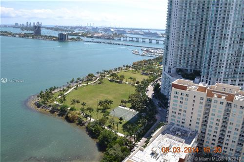 Photo of 2020 North Bayshore Drive #2805, Miami, FL 33137 (MLS # A10760426)