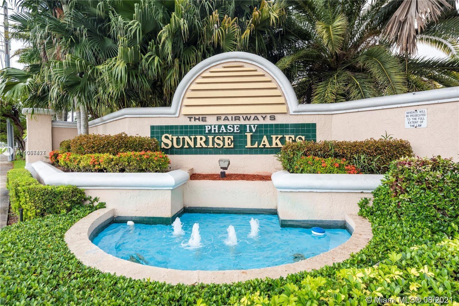 2901 N Nob Hill Rd #306, Sunrise, FL 33322 - #: A11087427