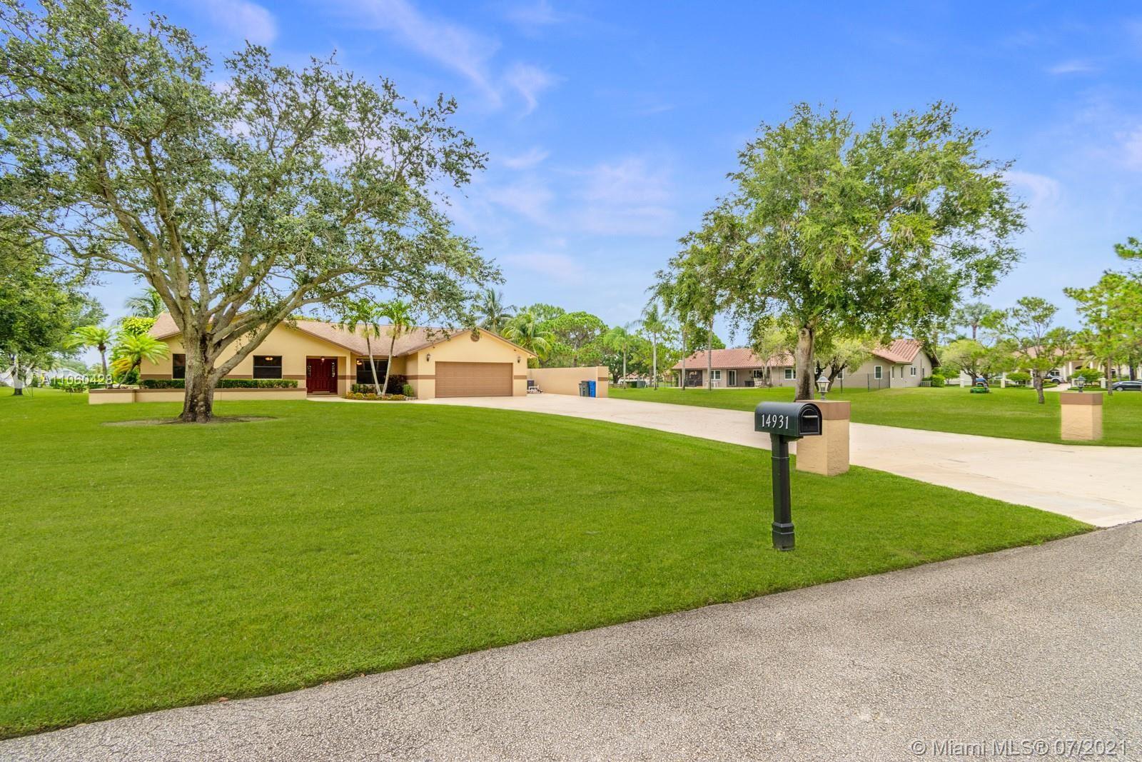 14931 Foxheath Dr, SouthWest Ranches, FL 33331 - #: A11060428