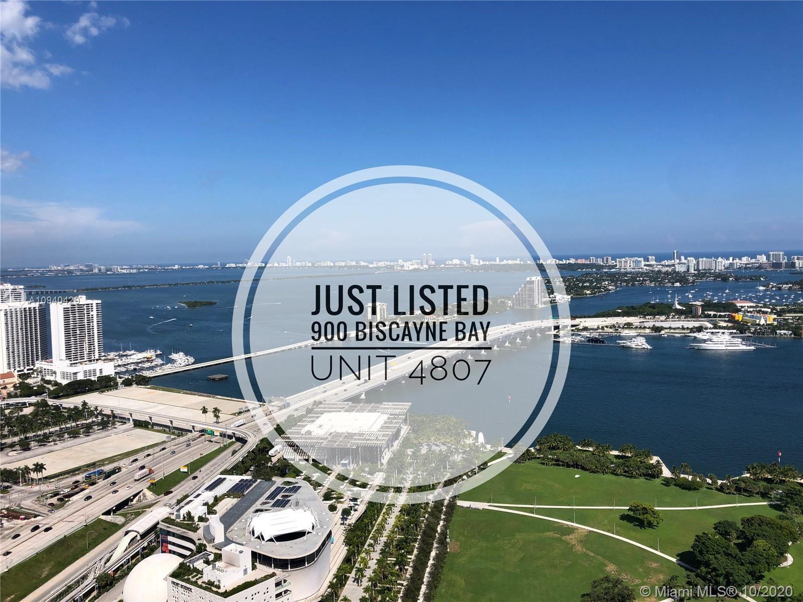 900 Biscayne Blvd #4807, Miami, FL 33132 - #: A10940429