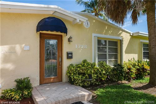 Photo of 1728 NE 16th Ter, Fort Lauderdale, FL 33305 (MLS # A10942432)
