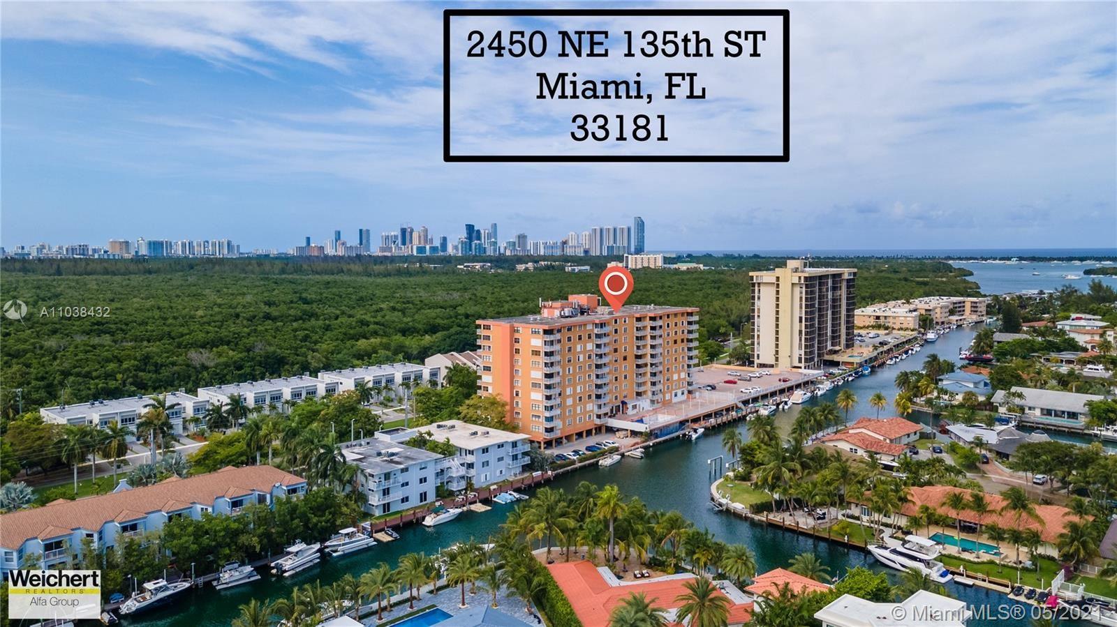 Photo of 2450 NE 135th St #302, North Miami, FL 33181 (MLS # A11038432)