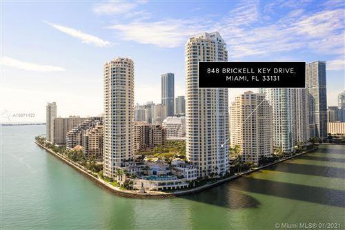 Photo of 848 Brickell Key Dr #904, Miami, FL 33131 (MLS # A10971433)