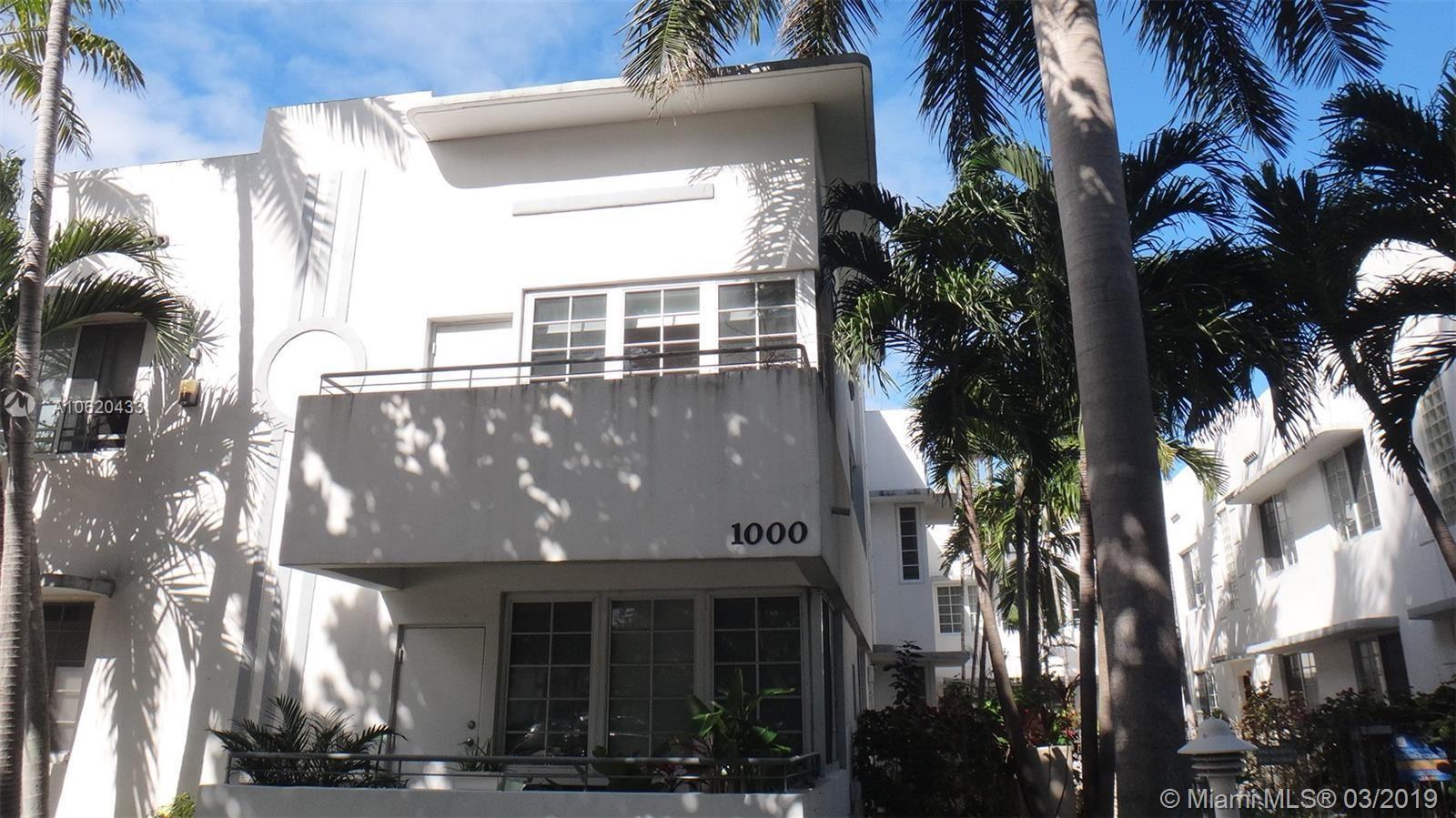1000 MERIDIAN AV #3, Miami Beach, FL 33139 - #: A10620433