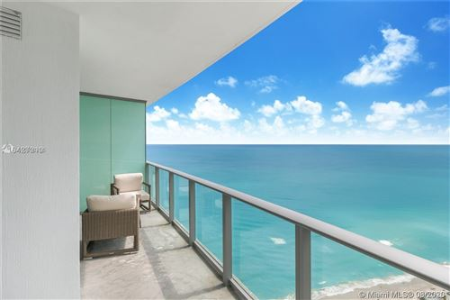 Photo of 4111 S Ocean Dr #3707, Hollywood, FL 33019 (MLS # A10906435)