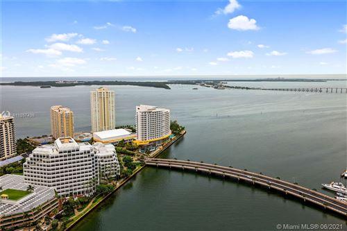 Photo of 495 Brickell Ave #3903, Miami, FL 33131 (MLS # A11057436)