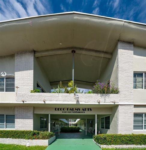 Photo of 6930 RUE VERSAILLES #22, Miami Beach, FL 33141 (MLS # A10945437)
