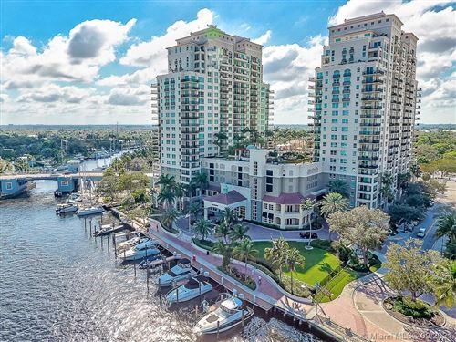 Photo of 610 W Las Olas Blvd #1512N, Fort Lauderdale, FL 33312 (MLS # A11100437)